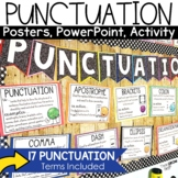 Punctuation Posters   Anchor Chart and Activities  ELA Classroom Décor