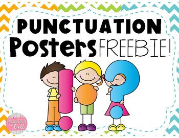 Punctuation Posters FREEBIE!