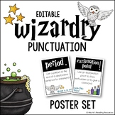 Punctuation Posters Wizardry Theme