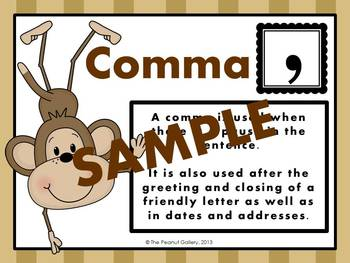 Punctuation Posters (Jungle/Animal Theme)