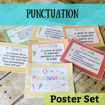 Punctuation Posters Packet