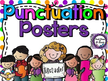 Punctuation Posters (Polka Dots)