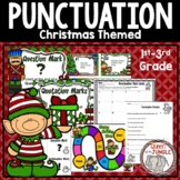 Christmas Punctuation Activities Posters Games