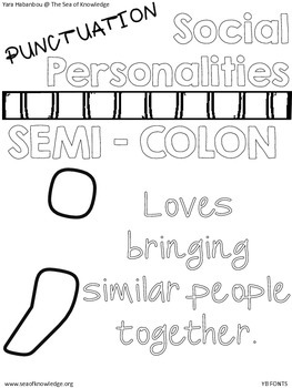 Punctuation Posters {Social Personalities}