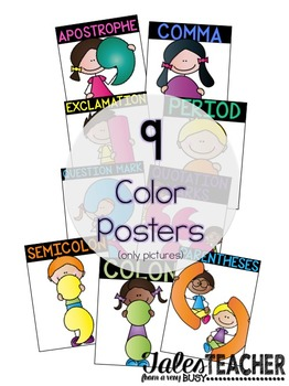 Punctuation Posters {THREE SETS}