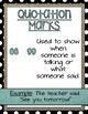 Punctuation Posters- Turquoise, Burlap, & Black and White Dots