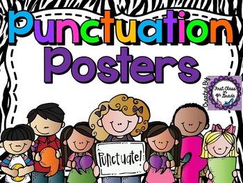 Punctuation Posters (Zebra)