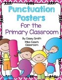 Punctuation Posters for the Primary Classroom - Color and Printer-Friendly