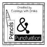 Punctuation Poster Set (with Interactive Notebook Option)