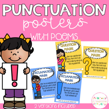 Punctuation Posters with Poems