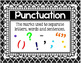 Punctuation Posters/Visuals