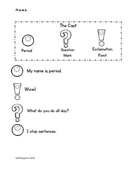 Punctuation Power: Play Poster Practice