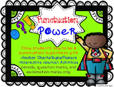 Punctuation Power Signs & Interactive Journal Activities F