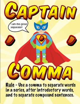Punctuation Power - Superheroes Poster Pack