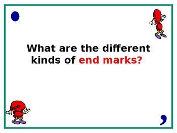 Punctuation PowerPoint (20 slides)