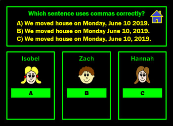 Punctuation Powerpoint Game Two by Grammatickx