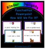 Punctuation Powerpoint How Will We Fix It?