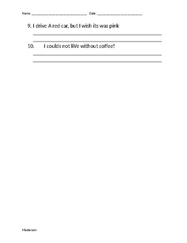Punctuation Practice #2