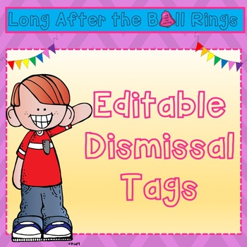 Editable Dismissal Tags