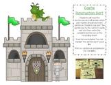 Punctuation Practice Center - Castle Theme
