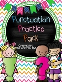 Punctuation Practice Pack