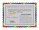 Punctuation Practice Packet