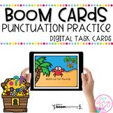 Punctuation Practice Treasure Hunt | Boom Cards™