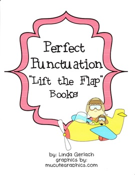 """Punctuation Practice with """"Lift the Flap"""" Books!"""