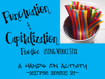 Punctuation Practice with Wikki Stix Freebie!