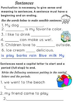 Punctuation Practices