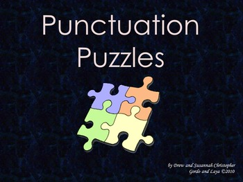 Punctuation Puzzles