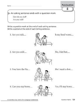 Punctuation: Question Marks
