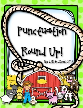 Punctuation Round Up Freebie