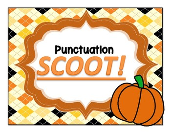 Punctuation SCOOT!