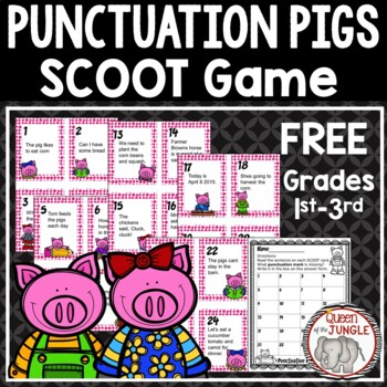 Punctuation SCOOT Game Free