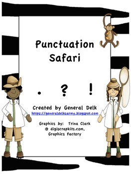 Punctuation Safari for Little Learners