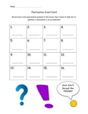 Punctuation Scoot Cards, period, exclamation, question mar