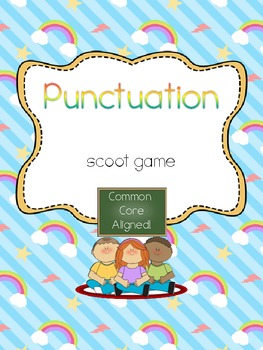Punctuation Scoot- Common Core Aligned