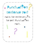 Punctuation Sentence Sort and Posters