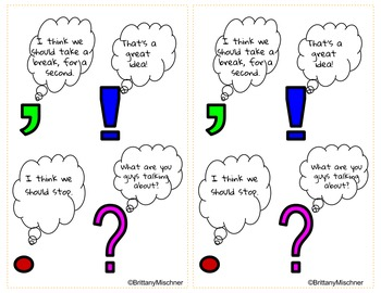 Punctuation Sign and Handouts