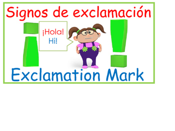 Punctuation/Signos de puntuacion
