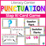 "Punctuation ""Slap-It!"" card game ELA/Literacy Center"