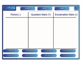 Punctuation SmartBoard Activity Common Core ELA