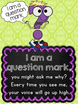 Punctuation Song {Posters + Printables}