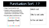 Punctuation Sort ? . !