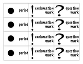 Punctuation Sort - Common Core