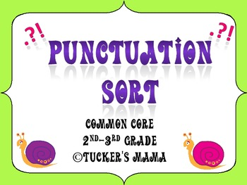 Punctuation Sorting Center