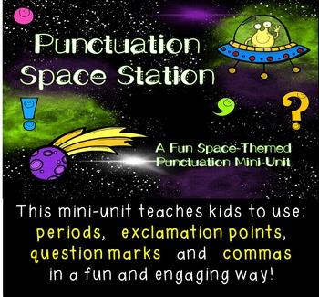 Punctuation Space Station Mini-Unit