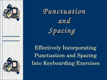 Punctuation Spacing PowerPoint