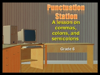 Punctuation Station 6th Grade